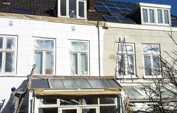 Kozijnen deuren dak direct als nieuw - Surfakote